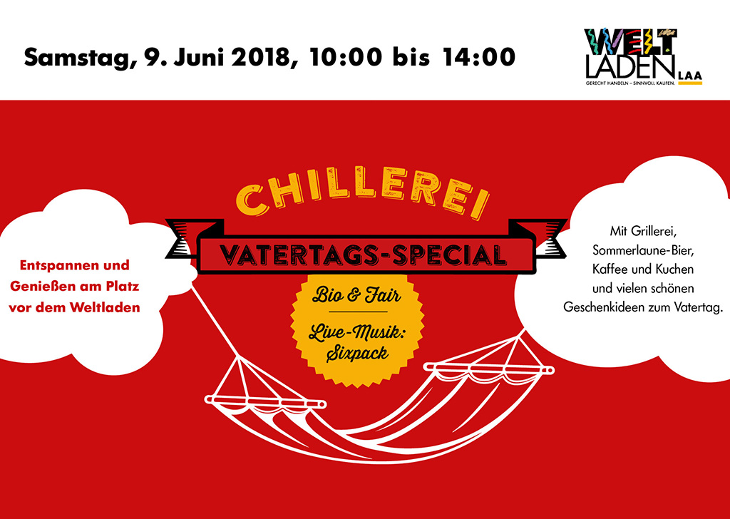 Vatertags-Chillerei
