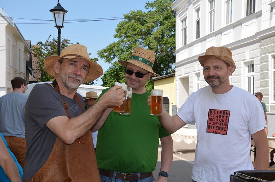 Burger, Bier & Bausteine