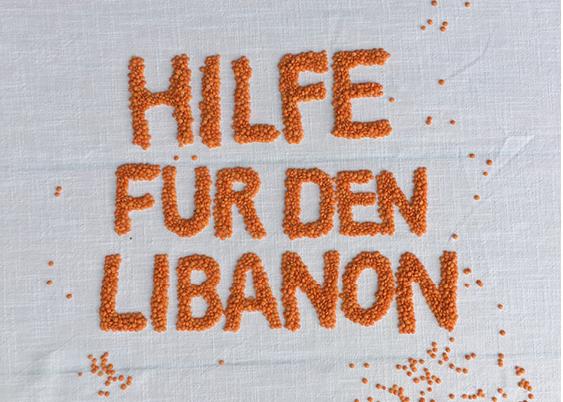 Linsen für den Libanon